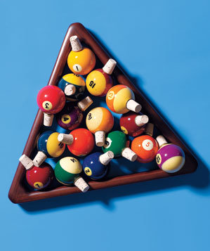 Pool Ball Wine Stoppers