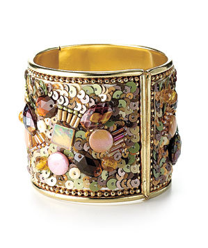 Anthropologie beaded cuff