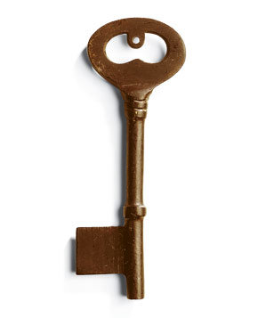 Pottery Barn Vintage Keys