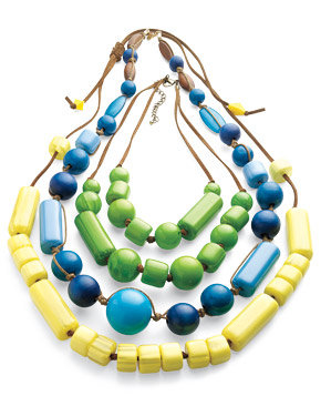 Old Navy bead necklaces