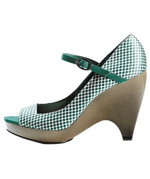 Ashland peep-toes by Lela Rose for Payless