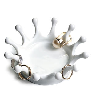 Milk Crown Jewelry Tray by Nova68