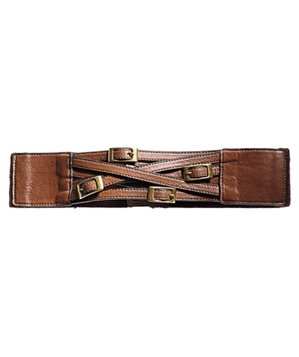 Skechers leather belt