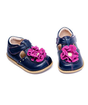 Blossom Navy shoes