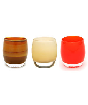 Glassybaby Candle Holders