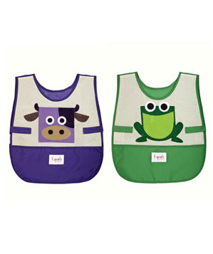 Cow and Frog Art smocks