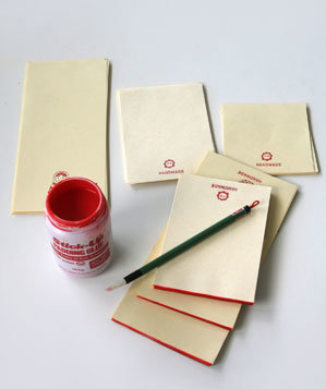 Handmade Notepad Steps