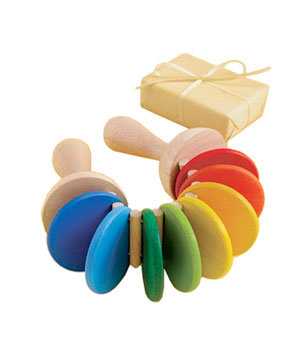 Rainbow Clatter toy