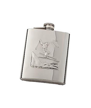 Skiers flask
