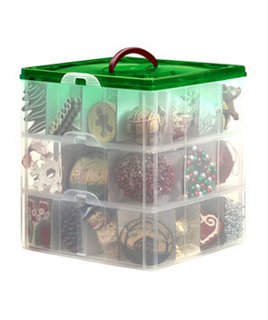 Snap N' Stack Holiday Storage Box