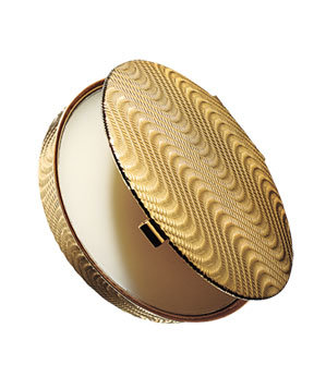 Lulu Beauty gardenia-based solid-perfume compact