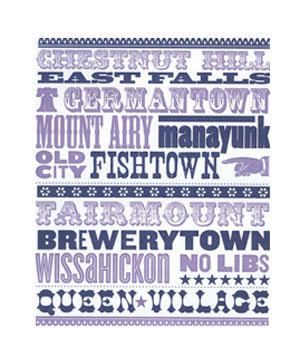 Neighborhood Letterpress Prints