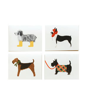 Assorted Dog Card Set