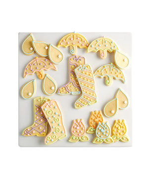 Spring Shower Cookies