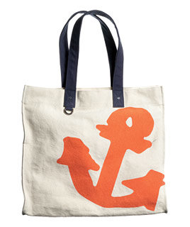 Lands' End Canvas cotton tote