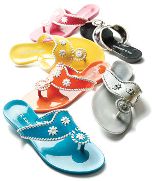 Jack Rogers waterproof PVC sandals