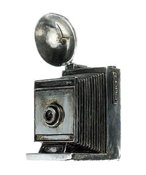 Z Gallerie decorative resin camera