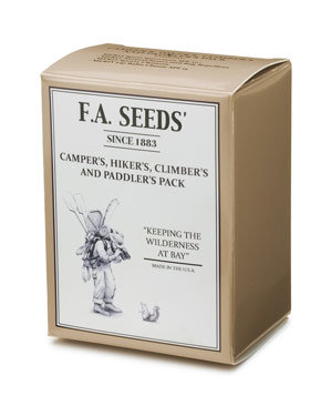 F.A. Seeds' Camper's and Hiker's Pack