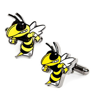Ravi Ratan Georgia Tech Yellowjackets Cuff Links
