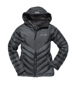 Helly Hansen down-blend coat