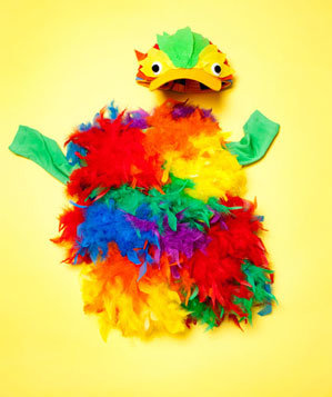 How To: Make Parrot Costume
