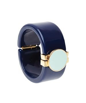 A La Mod navy resin bangle