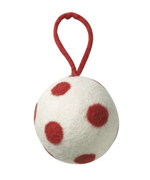 Felt Ball Ornament