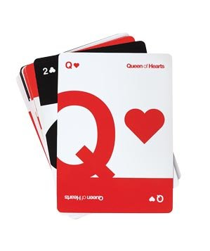 Helvetica Playing Cards