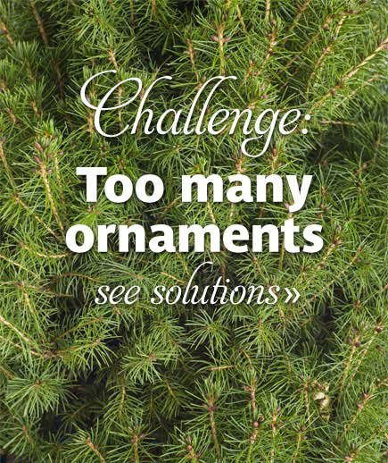 Challenge: Too many ornaments