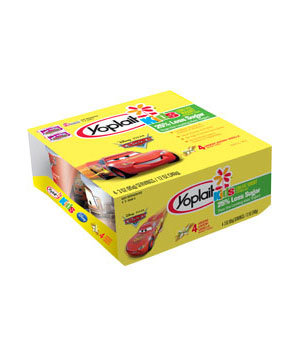 Yoplait Kids Cars Vroom Vroom Vanilla