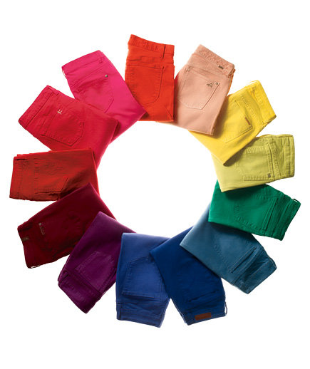 Colored Jeans for Every Shape | Real Simple