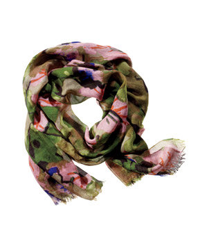 Simply Vera Vera Wang Polyester-and-Cotton Scarf