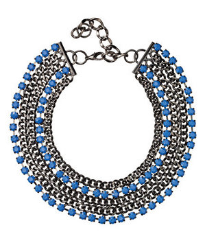 Adia Kibur Acrylic-and-Metal Necklace