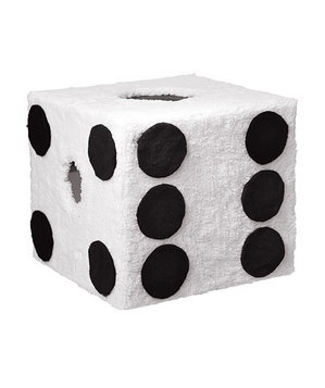 Fuzzy dice Halloween costume
