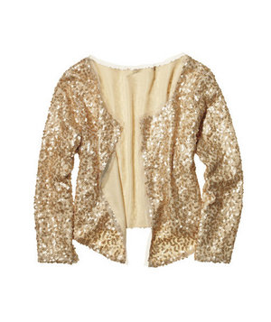 American Eagle Outfitters Sequin Jacket