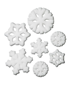 Copper Gifts Snowflake Sugar Decorations