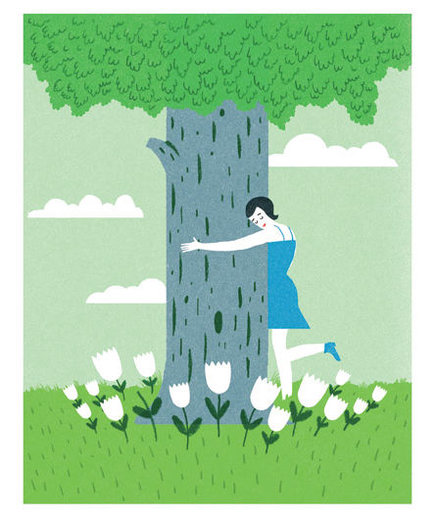 woman-hug-tree
