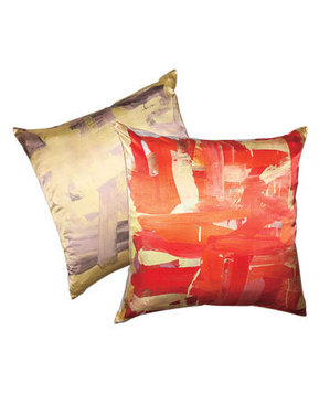 Leah Durner Abstract Pillow Cover