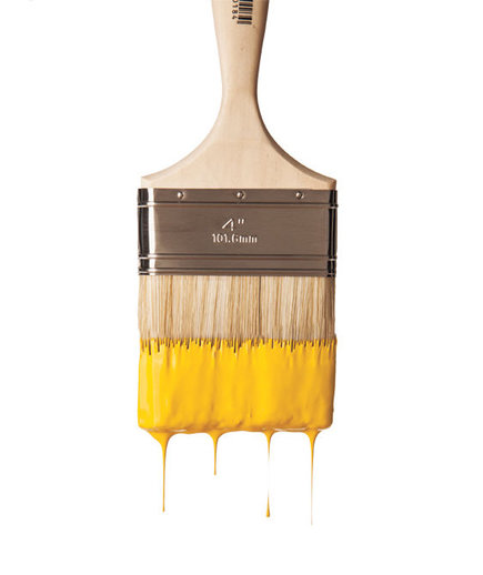 yellow-paint-paintbrush