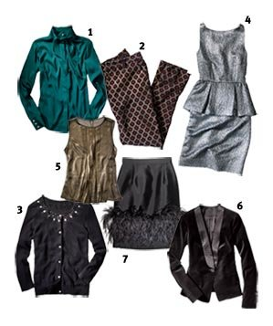 7 pieces of holiday clothing