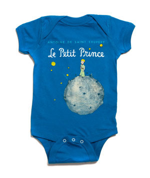 The Little Prince Book Cover Bodysuit