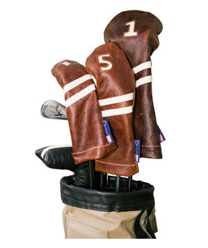 Stitch Golf Leather Headcovers