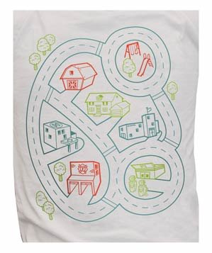Car Play Mat T Shirt