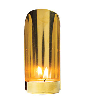 Brass handheld lantern (four inches)