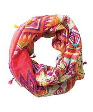 Forever 21 rustic-print polyester scarf