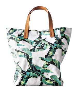 Gap Printed Palm Tote