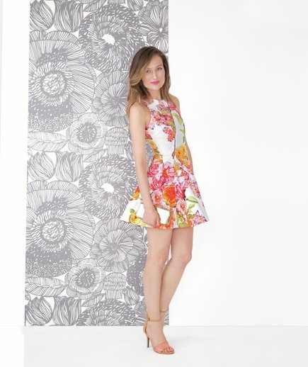 The Edgy Floral   7 Cute Summer Dresses   Real Simple
