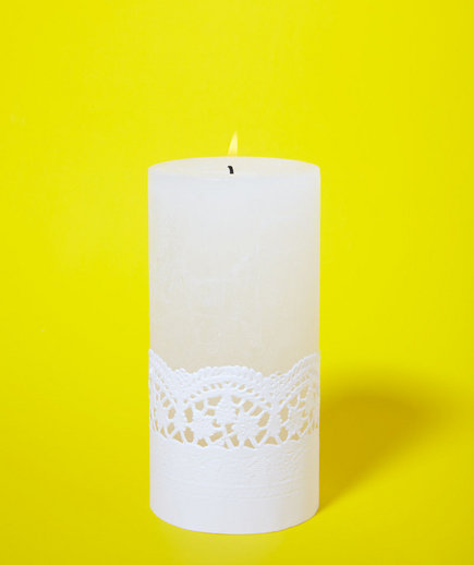 doily-candle-holder
