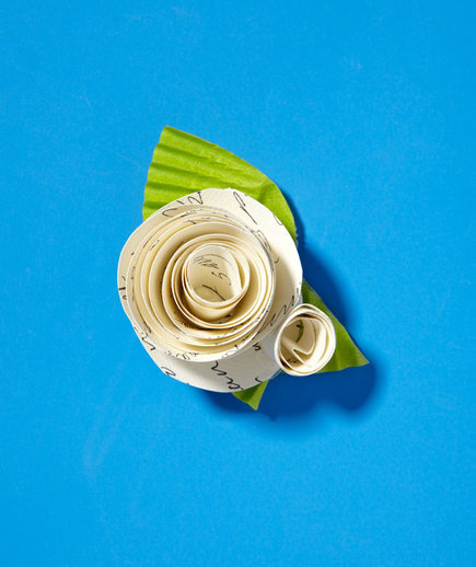 paper-boutonniere