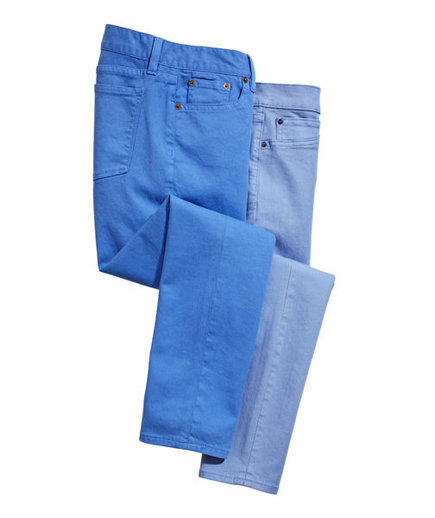 For a Tall Frame | Colored Jeans for Every Shape | Real Simple